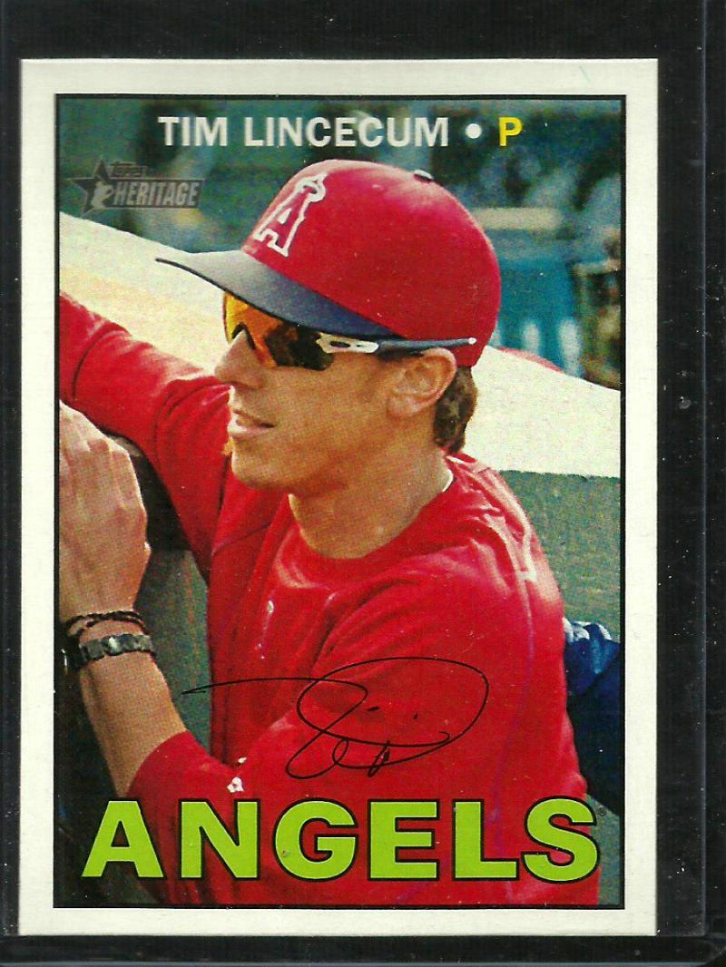 2016 Heritage High Number #631 Tim Lincecum NM-MT Angels