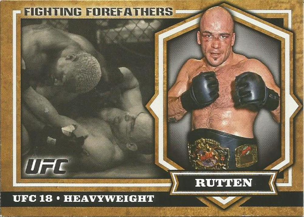 MMA UFC 2012 UFC Bloodlines Fighting Forefathers #FF-BS Bas Rutten NM-MT