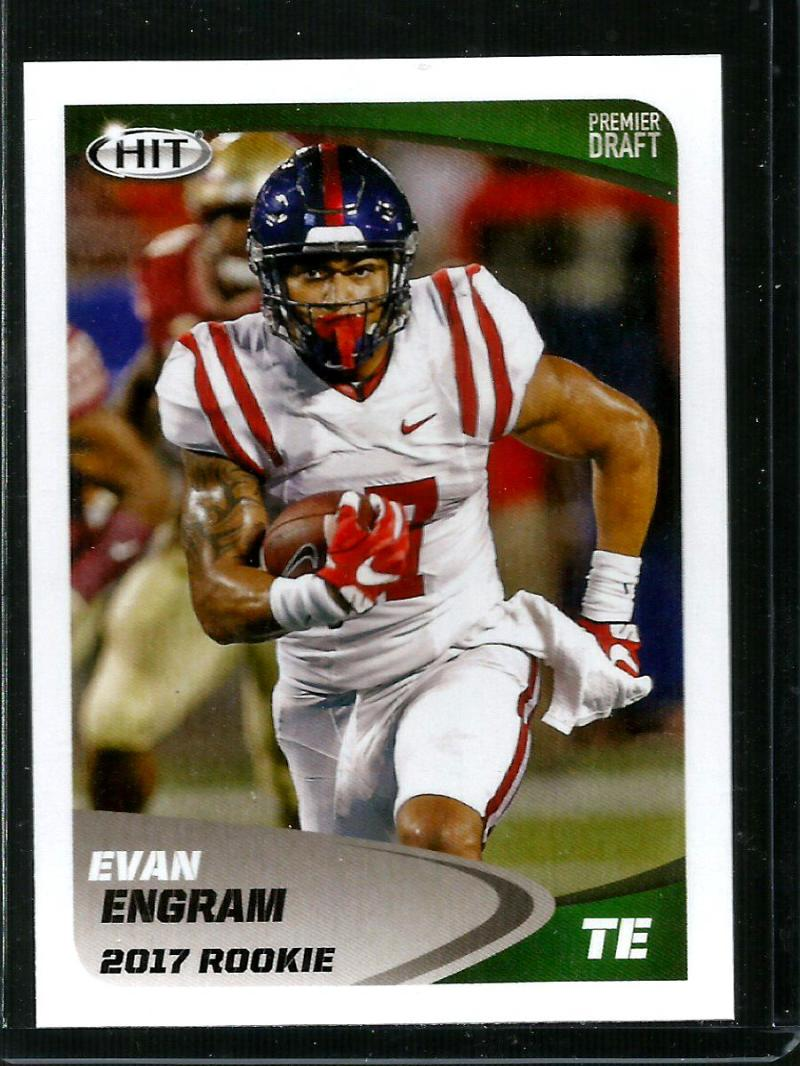 2017 Hit Premier Draft #38 EVAN ENGRAM NM-MT