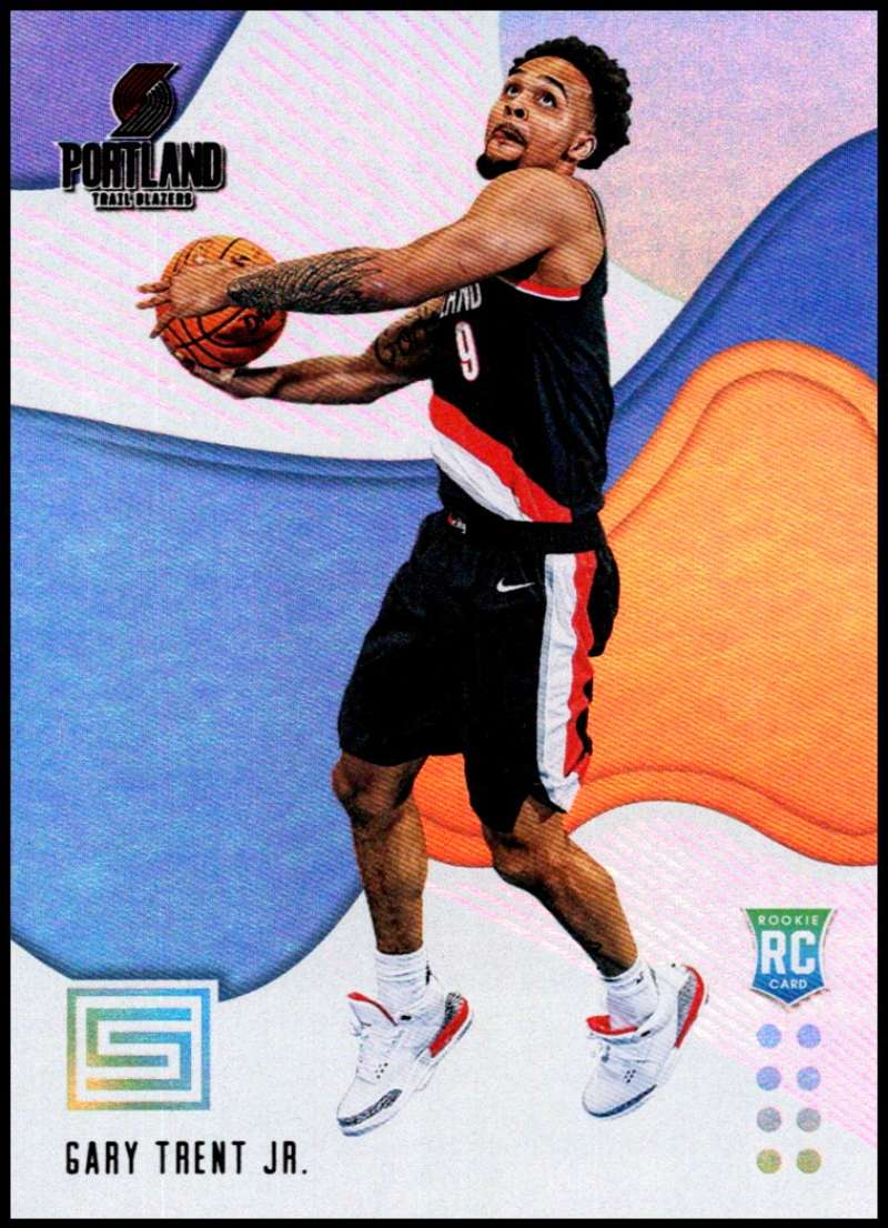 2018-19 Panini Status #193 Gary Trent Jr. NM-MT Portland Trail Blazers  Officially Licensed NBA Basketball Trading Card