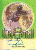 2014 Leaf Valiant Draft Out of this World #OWTH1 Teoscar Hernandez
