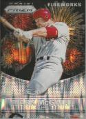 2015 Prizm Fireworks Flash Prizms #20 Mark McGwire NM 50/100 Cardinals