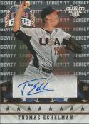 2015 Stars and Stripes Longevity Signatures #92 Thomas Eshelman  Auto /299