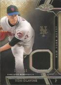 2015 Tier One Relics #TOR-TGE Tom Glavine NM-MT MEM Mets #399 or less