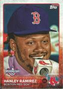 2015 Topps Opening Day Short Prints #140 Hanley Ramirez NM-MT SP Red Sox Press conference