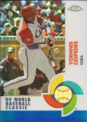 2009 Chrome World Baseball Classic Blue Refractors #W11 Yoenis Cespedes NM-MT 48/199