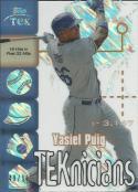 2014 High Tek 1999 TEKnicians Diffractors #99T-YP Yasiel Puig NM-MT 49/50 Dodgers