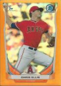 2014 Bowman Draft Chrome Orange Refractors #CDP67 Chris Ellis NM-MT 17/25 Angels