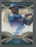 2014 Topps Tier 1 New Guard Autographs #NGA-JLA Junior Lake NM-MT Auto 91/399 Cubs