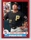 2016 Archives Red Border #140 Jung Ho Kang NM-MT 21/50 Pirates 1979 Design