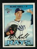 2016 Heritage High Number #705 Blake Snell NM-MT RC Rookie SP Rays