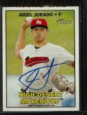 2016 Heritage Minor League Real One Autographs #ROA-AJ Ariel Jurado NM-MT Auto