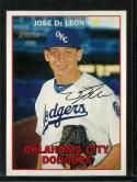 2016 Heritage Minor League Facsimile Signature Variation #91 Jose De Leon NM-MT