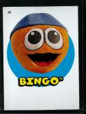 2016 Heritage Minor League 1967 Topps Sticker #48 Bingo NM-MT
