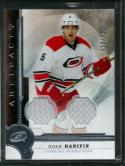 2016-17 Artifacts Materials Silver #86 Noah Hanifin NM-MT MEM 20/125 Hurricanes