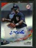 2016 Platinum Top Prospects Autographs #TPA-JM Jorge Mateo NM-MT Auto Yankees