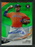 2016 Platinum Top Prospects Autographs Green #TPA-FM Francis Martes NM-MT Auto 43/75 Astros