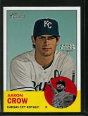 2012 Heritage #75 Aaron Crow NM-MT Royals