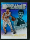 2016-17 Hoops Dreams Holo Gold #8 Devin Booker NM-MT 08/10 Suns