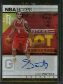 2016-17 Hoops Hot Signatures Rookies #34 Gary Payton II NM-MT Auto Rockets