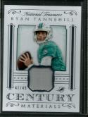 2015 National Treasures Century Materials #25 Ryan Tannehill NM-MT MEM 47/49 Dolphins