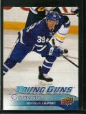 2016-17 Upper Deck UD Canvas #C99 Brendan Leipsic NM-MT Young Guns