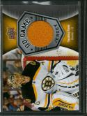 2016-17 Upper Deck UD Game Jerseys #GJ-TR Tuukka Rask NM-MT MEM Bruins