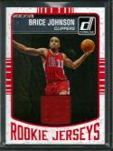 2016-17 Donruss Rookie Jerseys #51 Brice Johnson NM-MT MEM Clippers