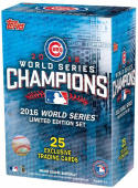 2016 Topps Chicago Cubs World Series Champions Box Set  Complete Baseball Set of 25 Cards