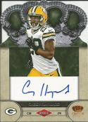 2012 Crown Royale Rookie Signature #13 Casey Hayward NM-MT RC Rookie Auto 30/245 Packers