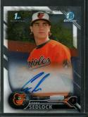 2016 Draft Chrome Draft Pick Autographs Refractors #CDA-CS Cody Sedlock NM-MT Auto Orioles