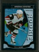 2015-16 Upper Deck O-Pee-Chee Update Rainbow Foil Black #U35 Max Domi NM-MT 42/100