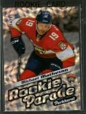 2016-17 Parkhurst Rookie Parade #RP19 Michael Matheson NM-MT 320/999 Panthers