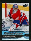 2016-17 Upper Deck #473 Charlie Lindgren NM-MT Canadiens Young Guns
