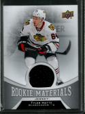 2016-17 Upper Deck Rookie Materials #RM-TM Tyler Motte NM-MT MEM Blackhawks