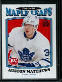Hockey NHL 2016-17 Upper Deck O-Pee-Chee Update Marquee Rookies Retro Variation #694 Auston Matthews NM-MT Maple Leafs