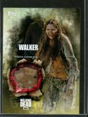 2016 Walking Dead Season 5 Relic Cards #NNO16 Walker Horde Clothing Card 1 NM-MT MEM /