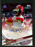 2017 Opening Day Mascots Autographs #MA-F Fredbird 1:747 packs NM-MT Auto Cardinals