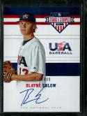 2017 Stars and Stripes 18U National Team Signatures #15 Blayne Enlow NM-MT Auto 474/499