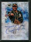 2017 Inception #141 Renato Nunez Autographs NM-MT RC Rookie Auto Athletics