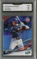 2016 Platinum Top Prospects #TP-IH Ian Happ GMA Graded 9  MINT Cubs