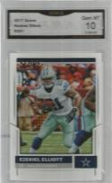 2017 Score #291 Ezekiel Elliott GMA 10 GEM-MT Cowboys