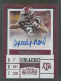 2017 Contenders Draft Picks College Ticket Autographs #159 Speedy Noil NM-MT Auto