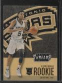 2016-17 Threads #249 Dejounte Murray Wood Rookies NM-MT Spurs