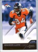 2011 Panini Absolute Commons Retail #32 Brandon Lloyd NM-MT Broncos