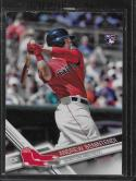 2017 Topps Variations Retail Factory Set #283 Andrew Benintendi Following Through Swing NM-MT SP Red Sox