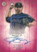 2014 Bowman Inception Prospect Autographs Pink #PA-JG Jonathan Gray NM-MT RC Rookie Auto 14/50 Rockies