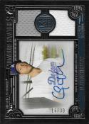 2016 Topps Museum Single Player Signature Swatches Dual Relic SSDCK Clayton Kershaw NM-MT
