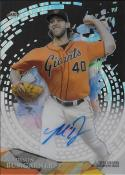 2014 Topps High Tek Disco Diffractor Autographs #HT-MB Madison Bumgarner NM-MT Auto 32/50 Giants