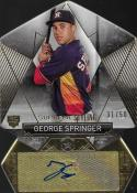 2014 Topps Supreme Die Cut Styling Autographs #SS-GS George Springer NM-MT Auto 31/50 Astros